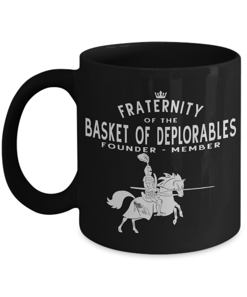 Fraternity Of The Basket Of Deplorables - Knight17  Mug