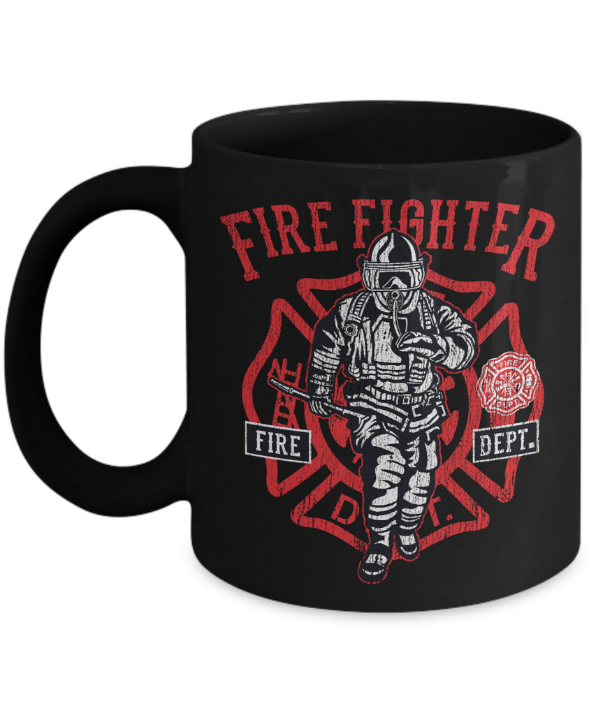 """Fire Fighter Fire Dept."" Coffee Mug"