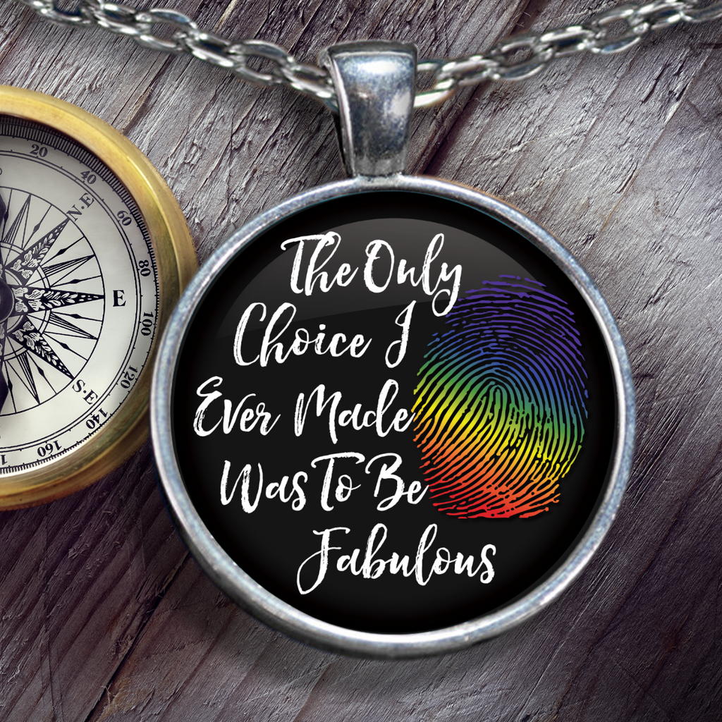 LGBT - Be Fabulous Necklace