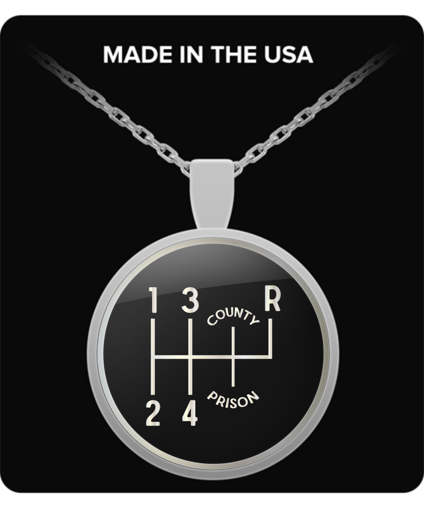 Gear Shift 1-2-3-4-County-Prison Pendant