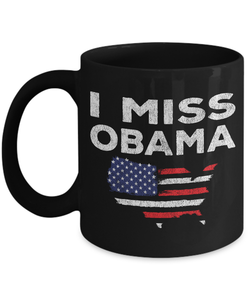 I Miss Obama - Distressed Coffee Mug
