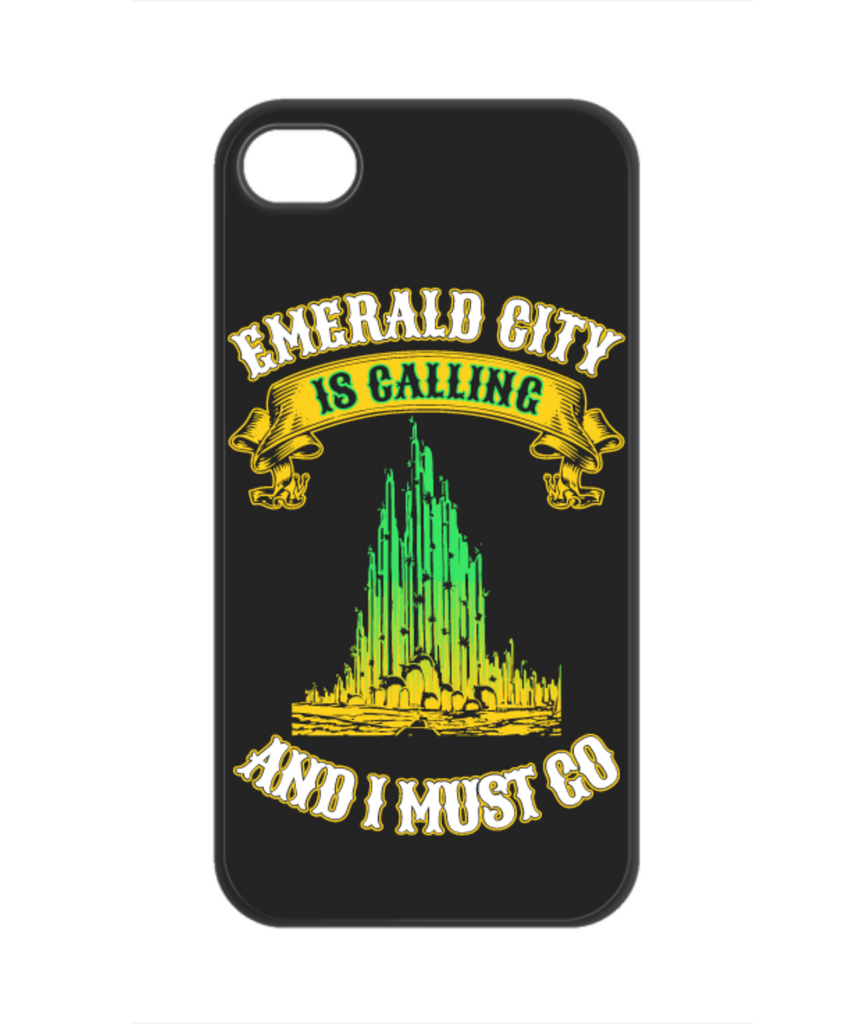 WOZ - Emerald City Is Calling Phone Case