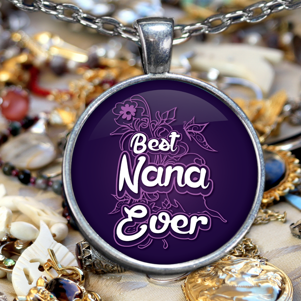 Best Nana Ever Necklace - BadAss Shirt Company