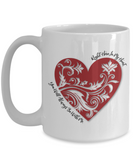 You Will Always Be With Me - White Mugs - BadAss Shirt Company - 3