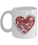 You Will Always Be With Me - White Mugs - BadAss Shirt Company - 1