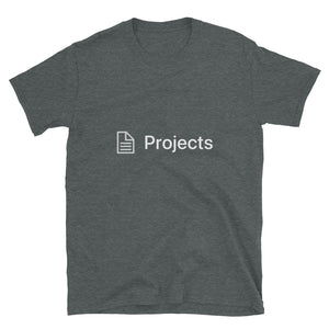 Projects Page Block T-Shirt