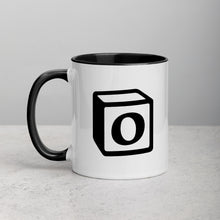 Load image into Gallery viewer, 'O' Block Monogram Mug