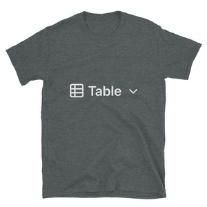 Table View T-Shirt