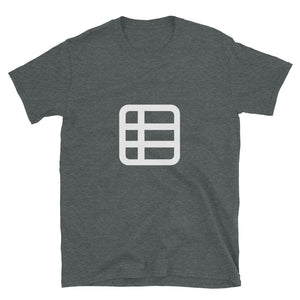 Table Icon T-Shirt