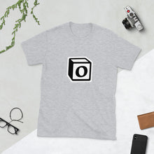 Load image into Gallery viewer, 'O' Block Monogram Short-Sleeve Unisex T-Shirt