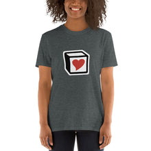 Load image into Gallery viewer, Heart Block T-Shirt - Red Heart