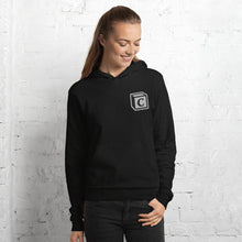 Load image into Gallery viewer, 'C' Block Embroidered Monogram Pullover Hoodie, Unisex