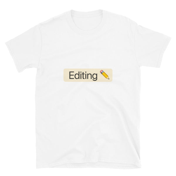 'Editing' Tag T-Shirt