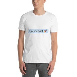 'Launched' Tag T-Shirt