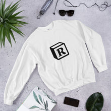 Load image into Gallery viewer, 'R' Block Monogram Unisex Sweatshirt