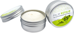Palm Repair Cream: All-Natural Dry Skin Relief Salve with Propolis and Arnica