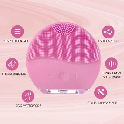 MyVibex™ Electric Face Cleansing Brush - MyVibex