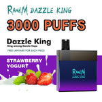 Load image into Gallery viewer, RandM Dazzle King Led Light Glowing Disposable Vape Pod Device Wholesale(3000 Puffs)