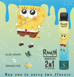 Load image into Gallery viewer, RandM Switch R And M 2in1 Disposable Pod Device Wholesale (Cartoon Design, 2400 Puffs)