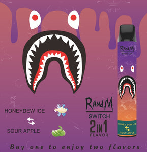 RandM Switch R And M 2in1 Disposable Pod Device Wholesale (Cartoon Design, 2400 Puffs)