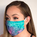 Galaxy Tie-Dye Face Cover Mask