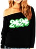 ST. PATRICK'S DAY 2020 Off-Shoulder Sweatshirt