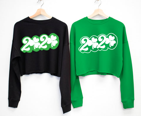 2020 ST. PATRICK'S DAY Cropped Sweater