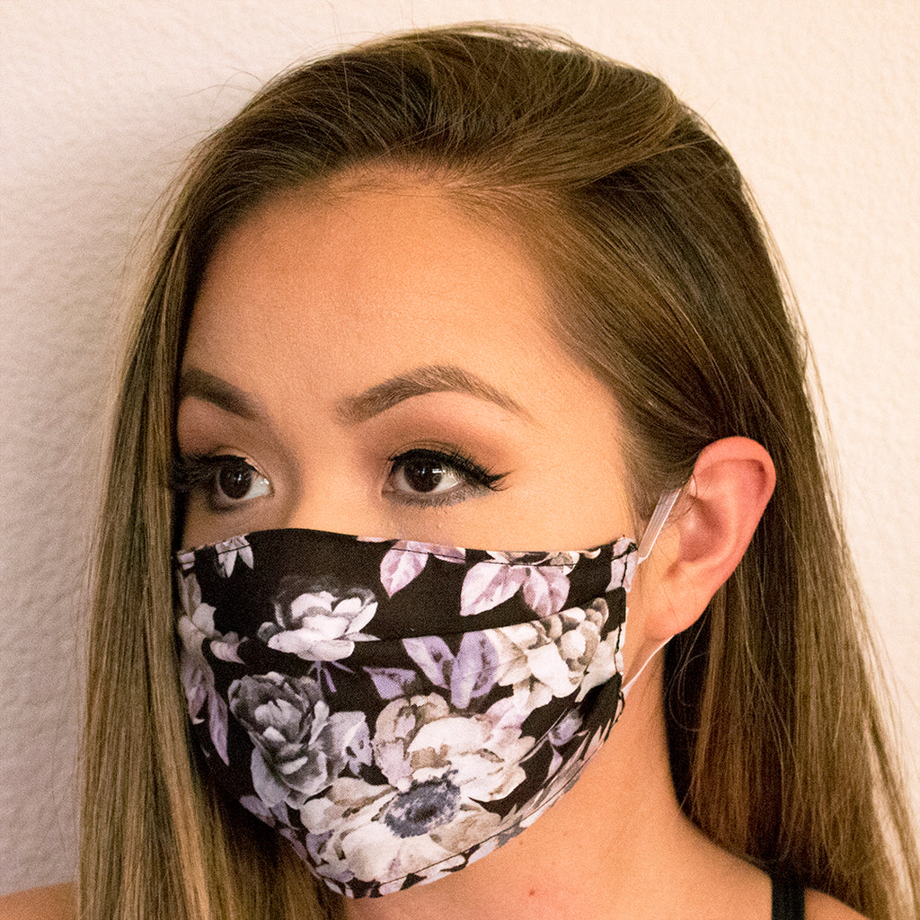 For the Love of Lavender Face Cover Mask