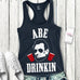 MOUNT SLOSHMORE Tank Top Navy Blue - Pick President