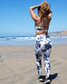Monte Carlo Floral High Waist Leggings & Sports Bra