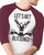 LET'S GET BLITZENED Christmas Baseball Tee Burgundy Unisex- Pick Version