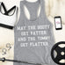 BOOTY FATTER Tummy FLATTER Workout Tank Top - Pick Style