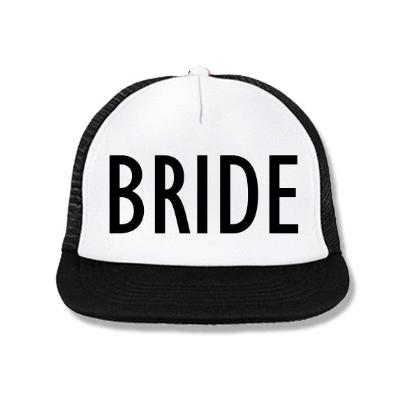 4bfb083cd5afc ... Bachelorette Party Hats Deal - BRIDE White   BRIDE SQUAD Pink with Black  Print ...
