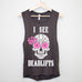 But Did You Die? Sugar Skulls Workout Tank Tops
