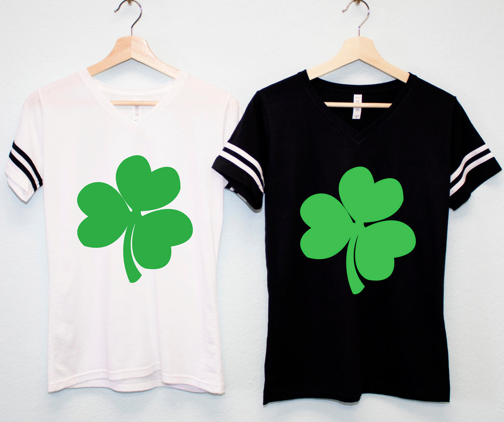 SHAMROCK Women's St. Patrick's Day T-Shirt