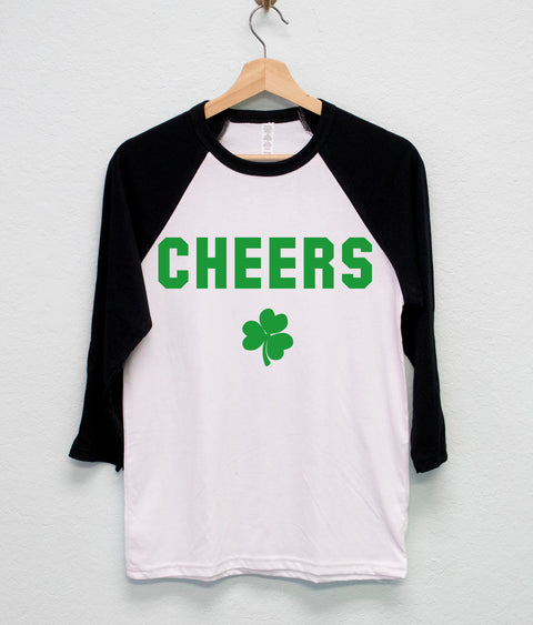 CHEERS St. Patrick's Day Shirt Unisex, St Paddy's Day Shirt