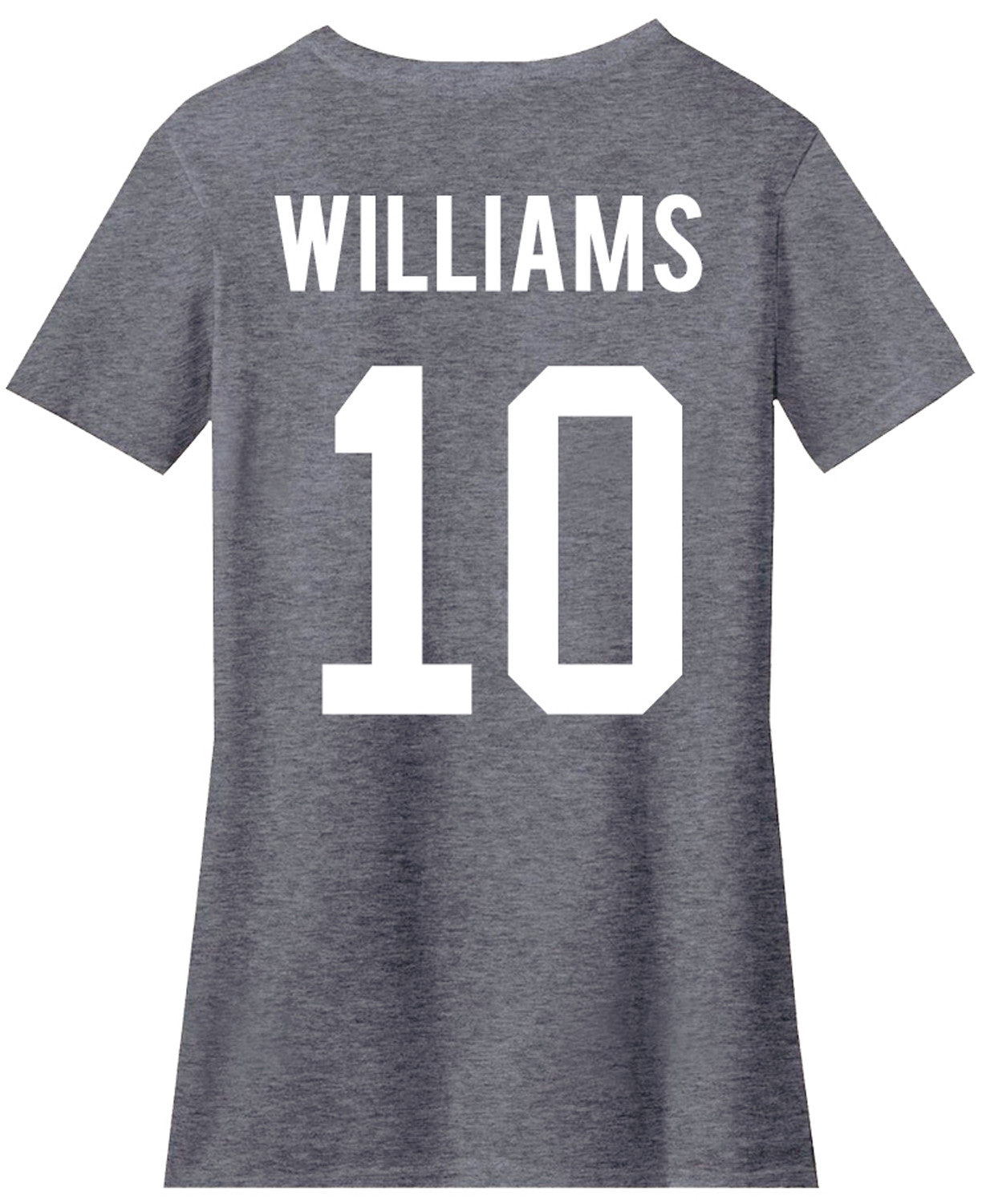 Custom jersey style back print name number customize for Print name on shirt