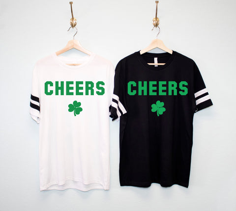 CHEERS Men's St. Patrick's Day Shirt