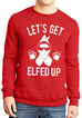 Let's Get Elfed Up Christmas Sweater Unisex Mugs Version - Pick Color