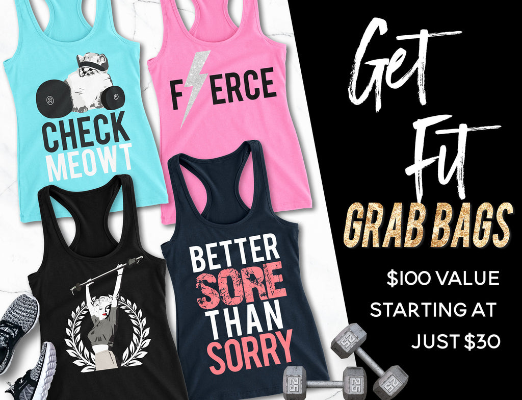 Get Fit GRAB BAG - Assortment of 4