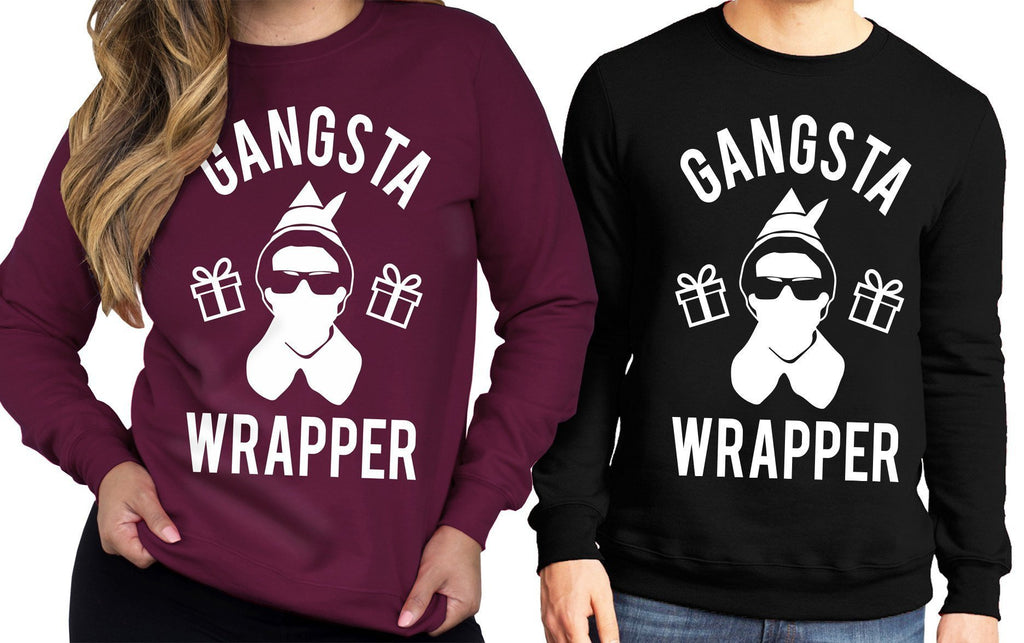 GANGSTA WRAPPER Unisex Sweater - Pick Color