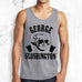 MOUNT SLOSHMORE - Men's Gray Tank - Pick President