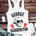 MOUNT SLOSHMORE TANK TOP WHITE - PICK PRESIDENT