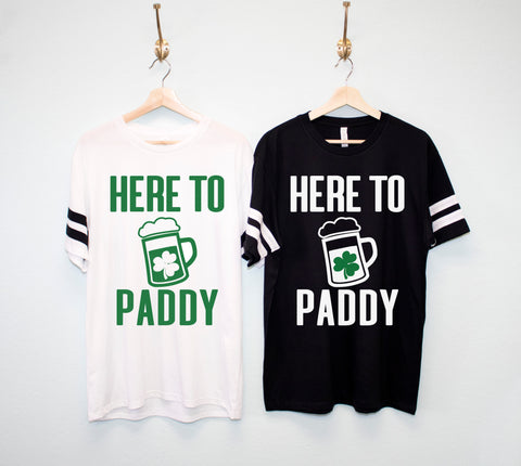 HERE TO PADDY Men's St. Patrick's Day Shirt