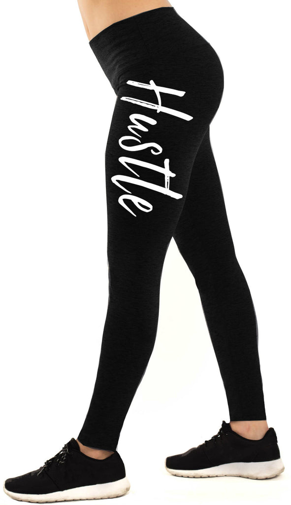 HUSTLE Workout Leggings Black