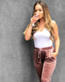 Brunch Velour Jogger Pants - Pick Color