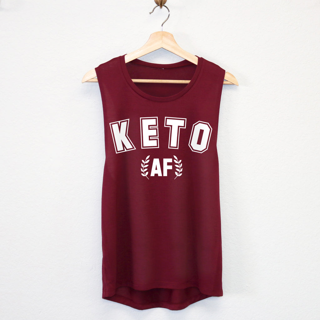 KETO AF Tank Top or Crop Top - Pick Style