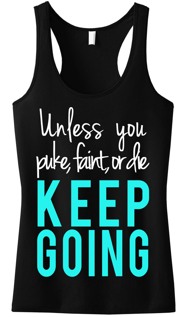 KEEP GOING Workout Tank Top