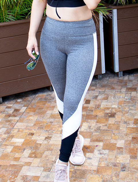 Monochrome High Waist Leggings