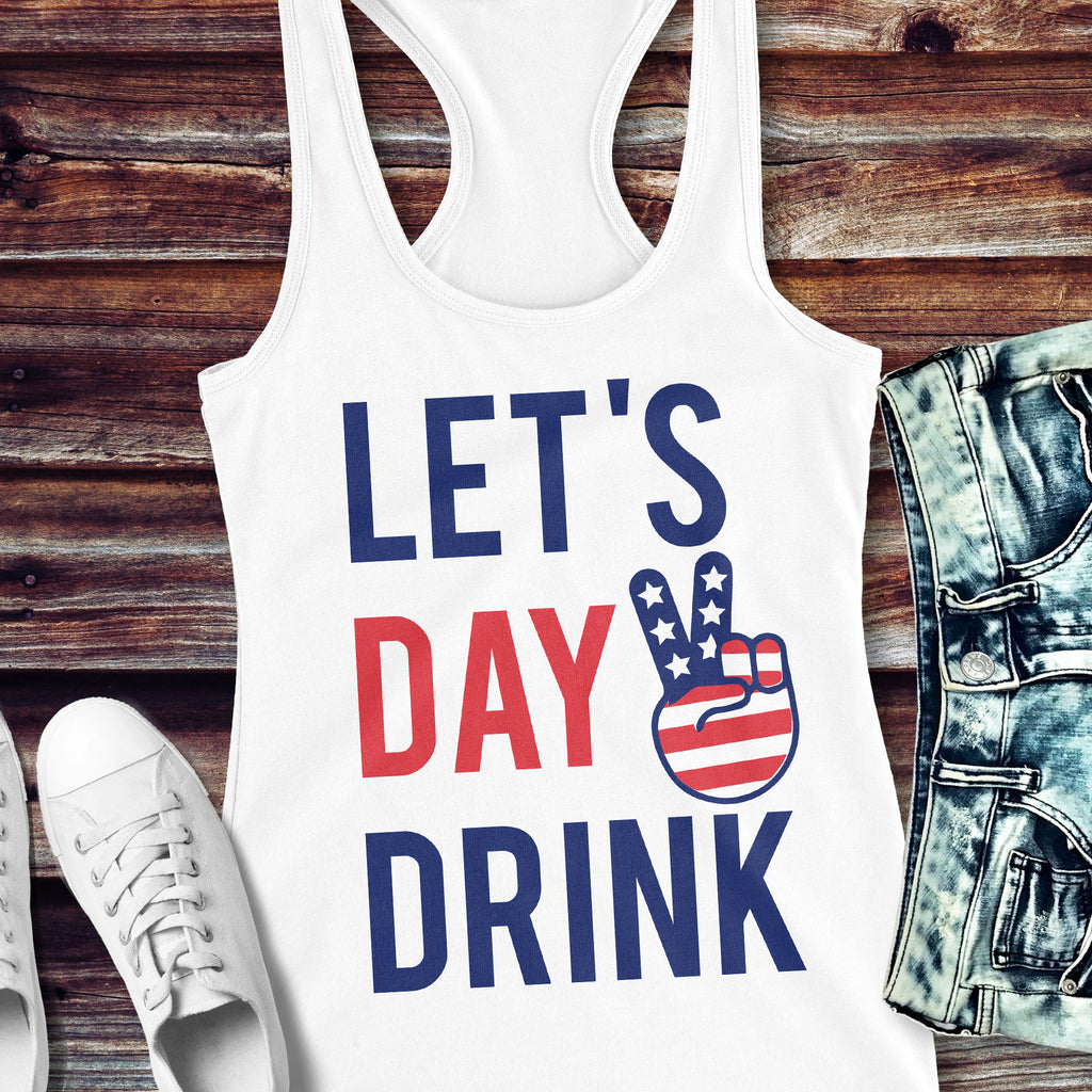 LET'S DAY DRINK Tank Top
